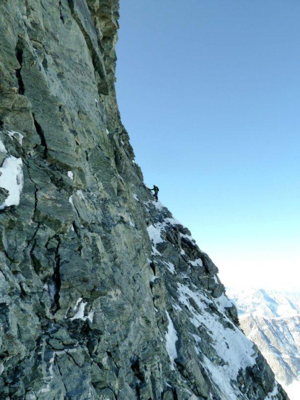 Nearing the summit slopes. © Tom Grant