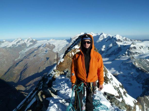 Tom on the summit.