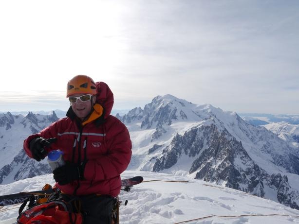 Jon on the summit.