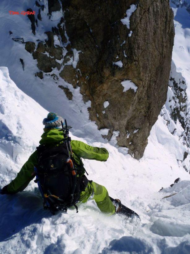 Luca dropping in- © Tom Grant