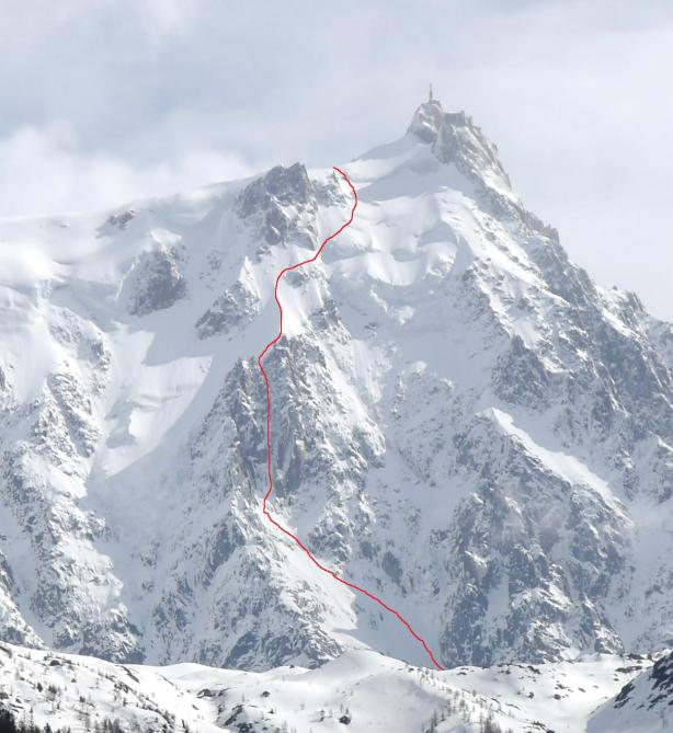 Frendo Spur Ski Line (rappels through the rock band)