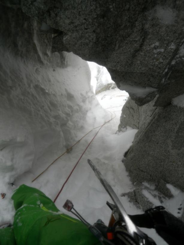 Through a hole in the mountain. © Ben Briggs