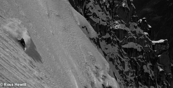 Bird on the lower slopes © Ross Hewitt
