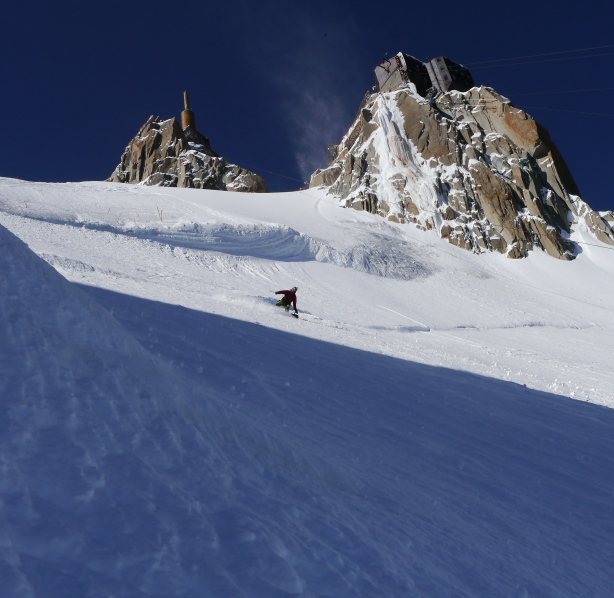 Luca at the top. © Ben Briggs