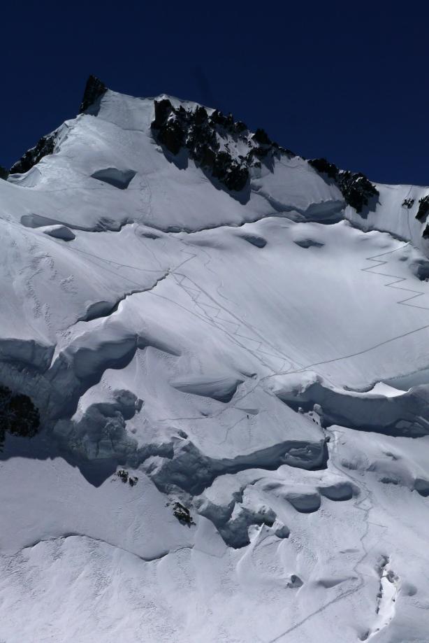 Mont Maudit North face. © Ben Briggs
